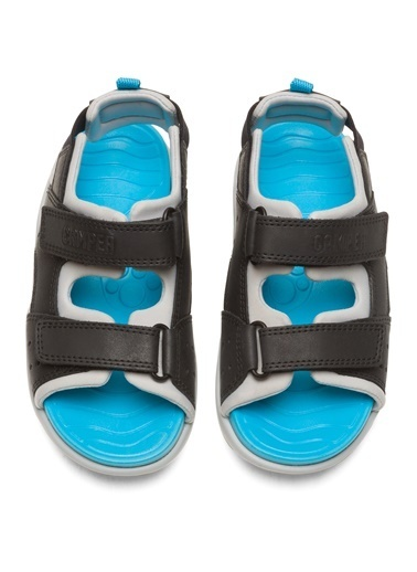 Camper Wous Kids Sandalet Siyah